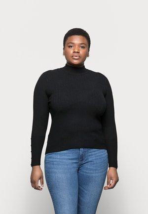 CORE SPUN FUNNEL - Pullover - black