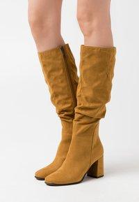 Marco Tozzi - Boots - mustard - 0