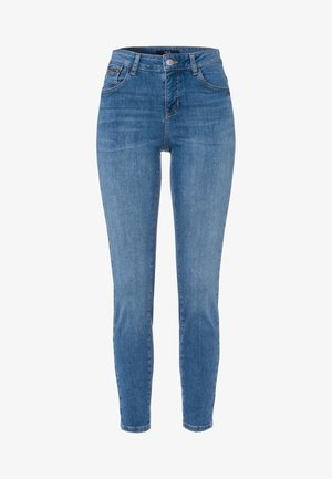 PADUA - Slim fit jeans - aegean blue authentic washed