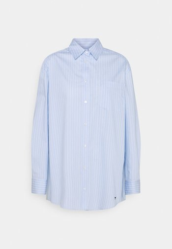 MAROSO - Button-down blouse - azurblau