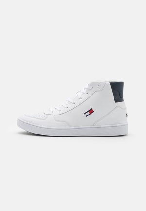ESSENTIAL CUPSOLE PRINT - High-top trainers - white