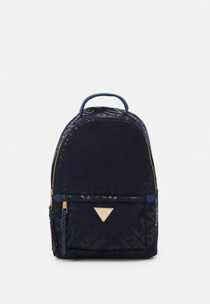 MONOGRAM BACKPACK - Rucksack - blue/dark