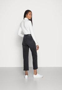Opus - LANI AUTHENTIC - Straight leg jeans - authentic grey - 2