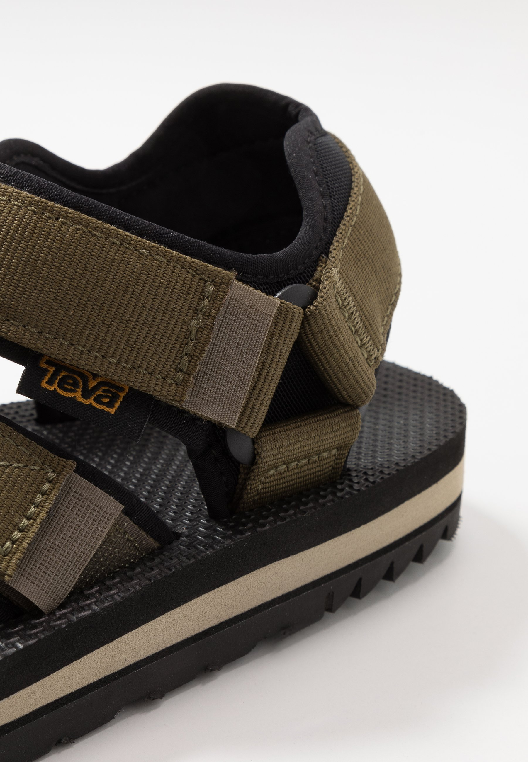 Teva Cross Strap Mens - Outdoorsandalen Dark Olive