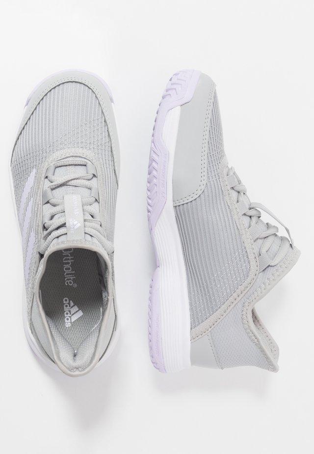 ADIZERO CLUB - da tennis per terra battuta - grey two/purple tint/footwear white