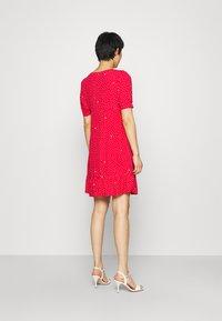 Liu Jo Jeans - ABITO - Day dress - red pois - 2
