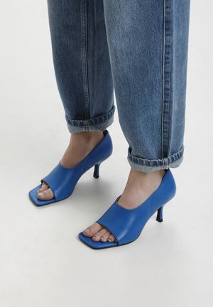 Peep toes - french blue