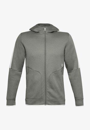 RECOVER  - Fleece jacket - gravity green
