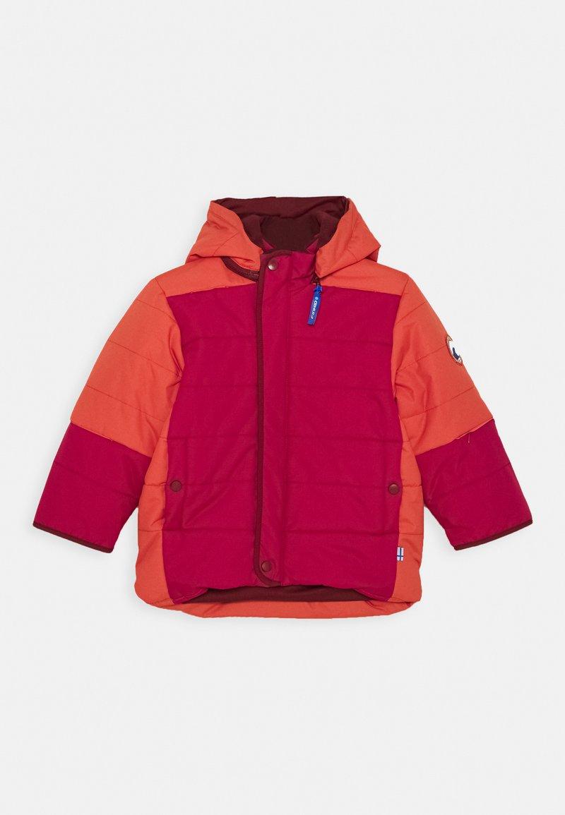 Finkid - KOIRA HUSKY - Winter jacket - persian red/cabernet