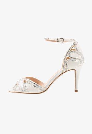 LATOYA - Sandály na vysokém podpatku - ivory