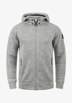 CHILLINGWORTH - Hoodie met rits - light gray