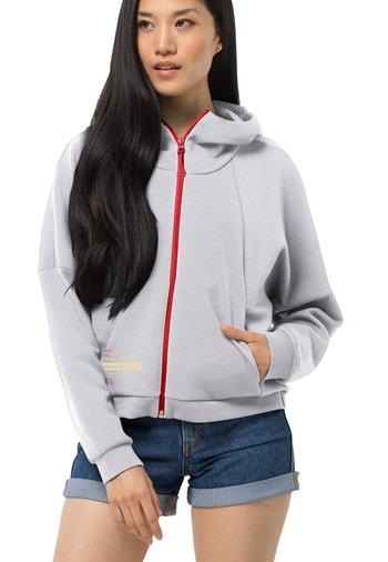 STARBOARD - Zip-up sweatshirt - white cloud
