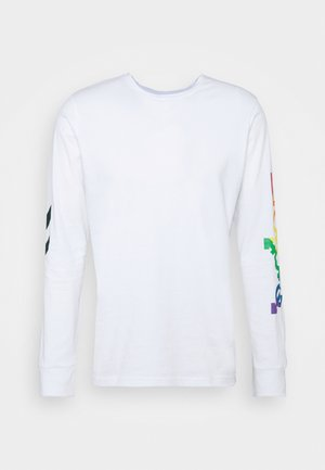 LOVE  - Long sleeved top - white/multicolor