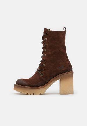 COMBI - Kotníková obuv na vysokém podpatku - marvin bruno