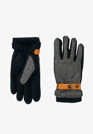 Gloves - stone grey