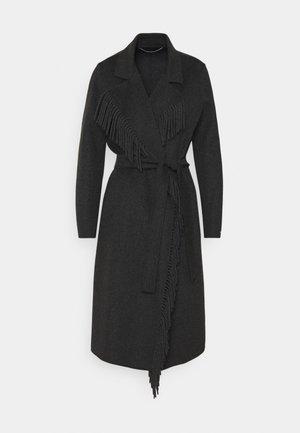 DEMIEN - Klasický kabát - grigio scuro