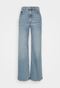 Monki - YOKO  - Flared Jeans - blue medium dusty - 3