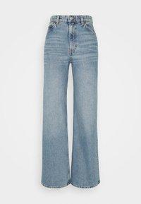 YOKO  - Jean flare - blue medium dusty