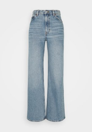 YOKO  - Flared Jeans - blue medium dusty