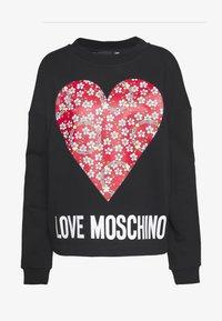 Love Moschino - Mikina - black - 4