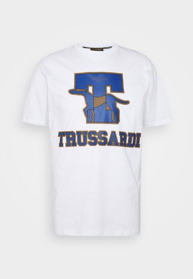 PURE - T-shirt con stampa - white