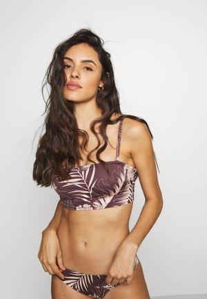 MAHINA LONG BANDEAU - Bikini top - cocoa