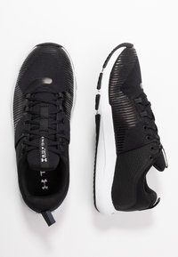 Under Armour - ENGAGE - Træningssko - black/white - 1