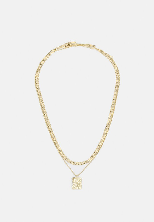 NECKLACE BATHILDA 2 PACK - Halskæder - gold-coloured