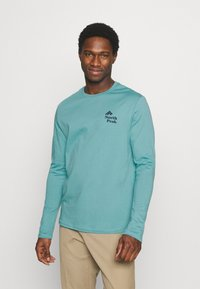 Pier One - Long sleeved top - turquoise - 0