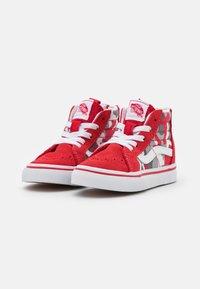 Vans - SK8 ZIP - High-top trainers - racing red/true white - 1