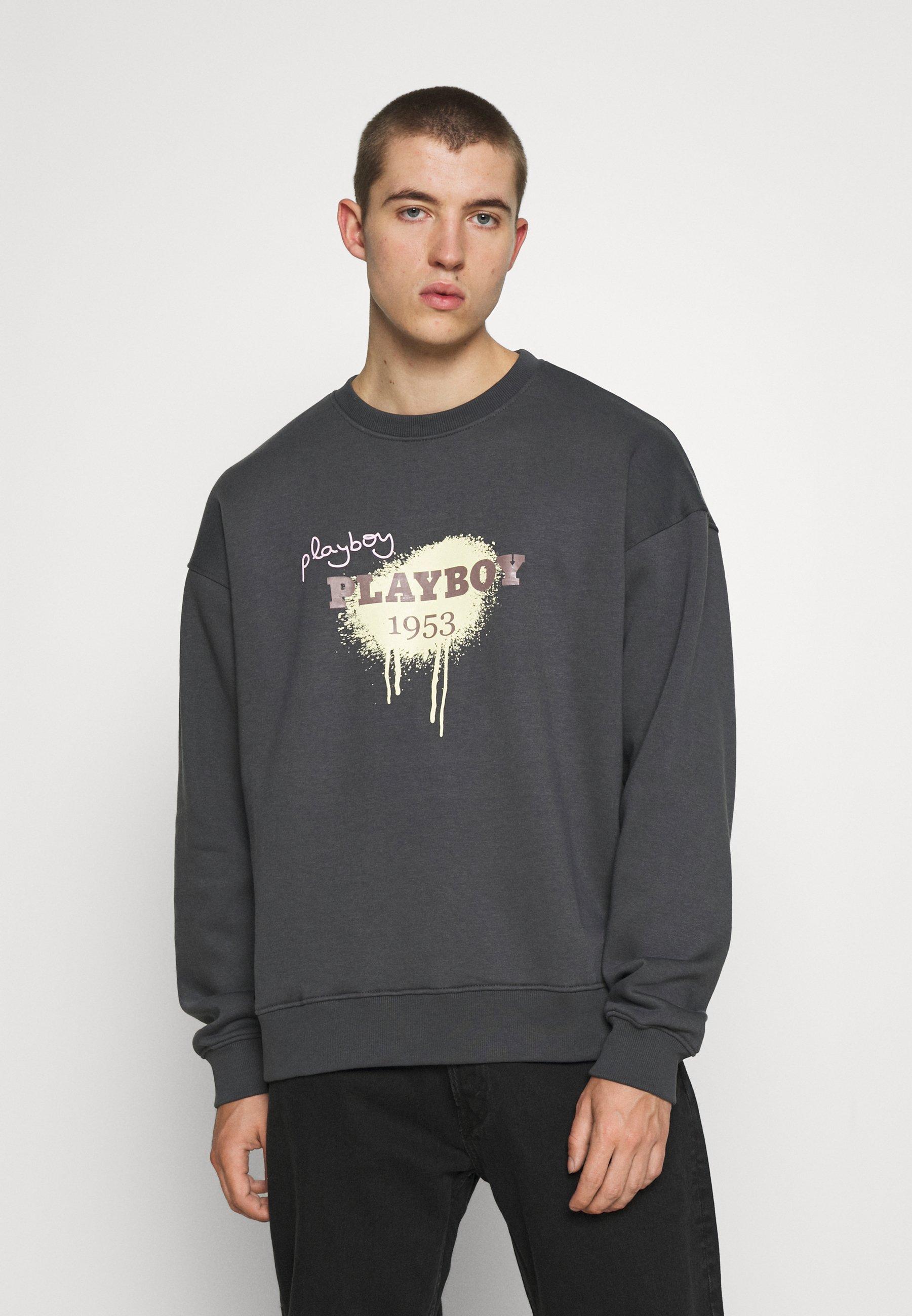 Women PLAYBOY X MENNACE UNISEX GRAFFITI PRINT - Sweatshirt