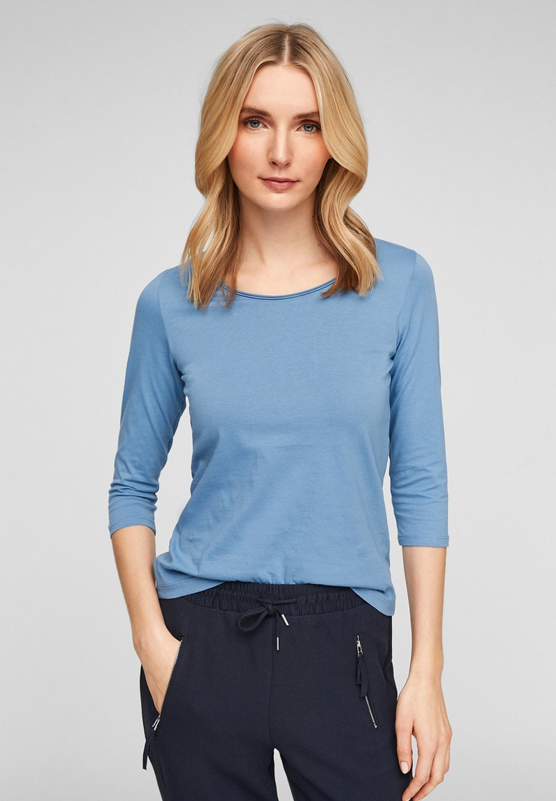 s.Oliver - Long sleeved top - light blue