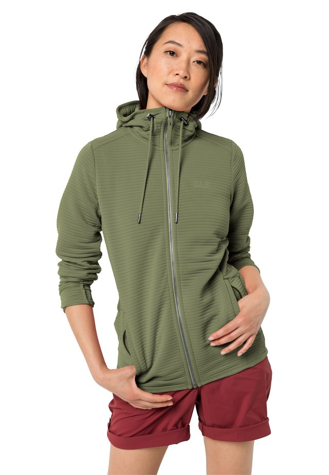 MODESTO  - Zip-up hoodie - light moss