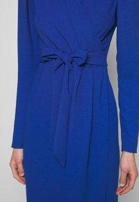 Closet - DRAPE SKIRT WRAP TIE DRESS - Shift dress - cobalt - 6