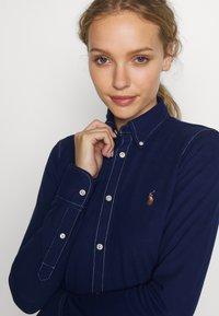 Polo Ralph Lauren - HEIDI LONG SLEEVE - Button-down blouse - holiday navy - 3