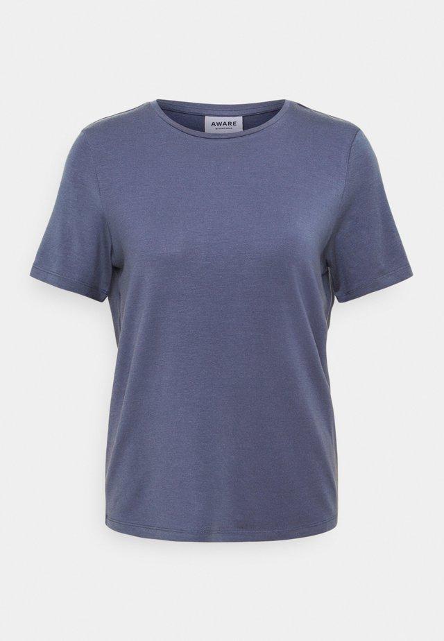 VMAVA - Jednoduché triko - vintage indigo