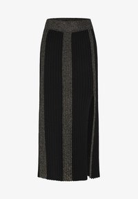 faina - ROCK - Maxi skirt - black - 4