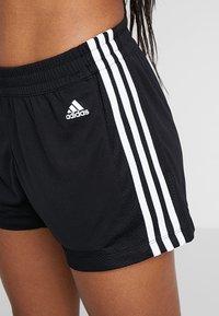 adidas Performance - SHORT - Träningsshorts - black/white - 4