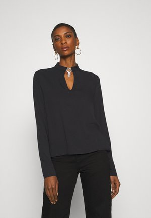 LUCILLA - Blouse - jet black
