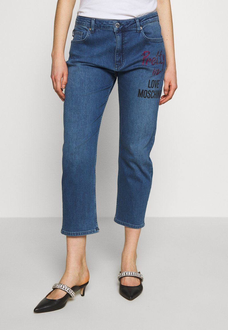 Love Moschino - Jean boyfriend - denim
