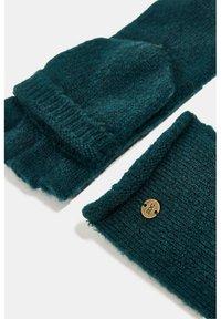 edc by Esprit - Fingerless gloves - dark teal green - 4