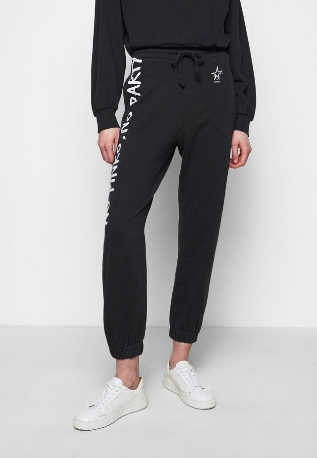 ENOLOGIA - Pantaloni sportivi - black