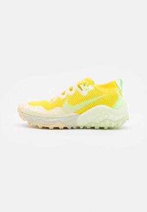 WILDHORSE 7 UNISEX - Trail running shoes - pollen/yellow strike/lime glow/saturn gold/lemon drop/lime ice