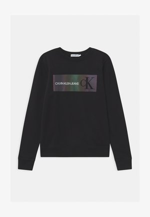 REFLECTIVE LOGO - Sweater - black