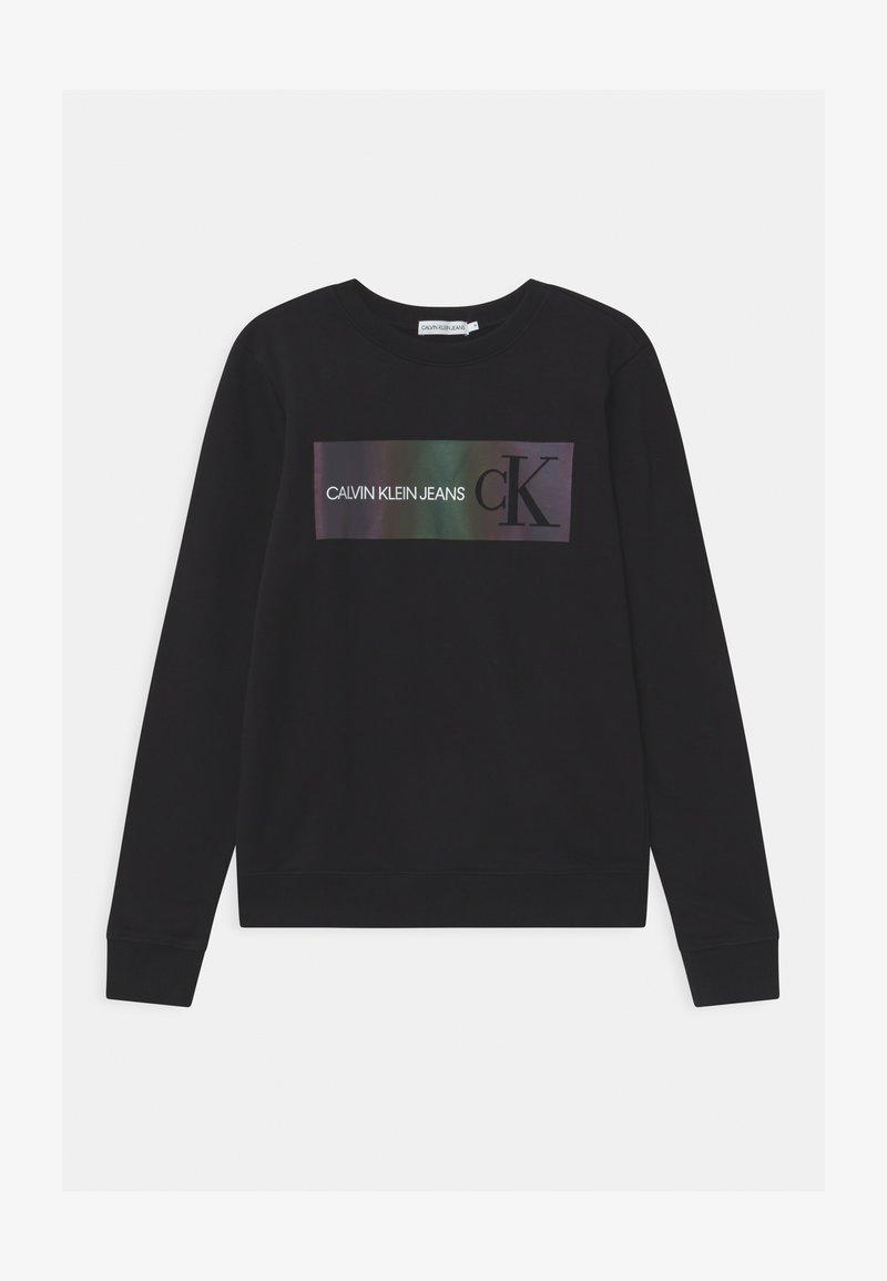 Calvin Klein Jeans - REFLECTIVE LOGO - Sweatshirt - black