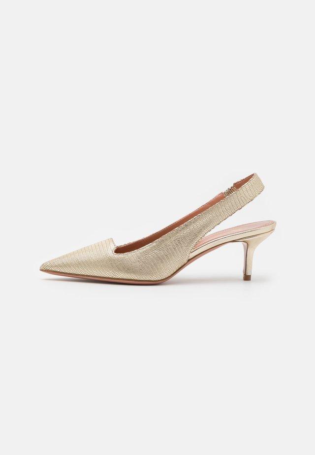 ALLEGRA  - Classic heels - platino