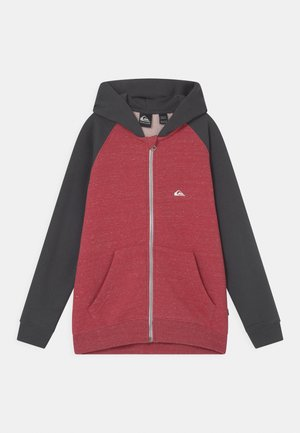 EASY DAY ZIP YOUTH - Zip-up hoodie - american red heather