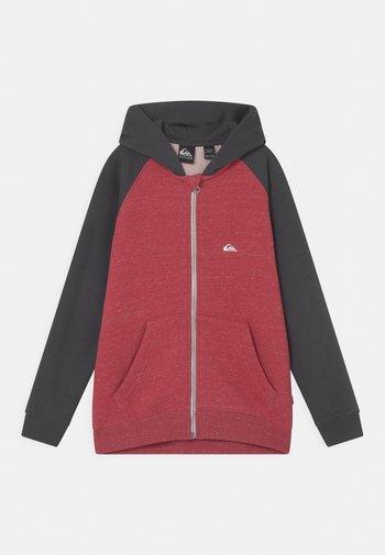 EASY DAY ZIP YOUTH - Zip-up sweatshirt - american red heather