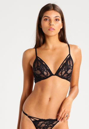 Underwired bra - black