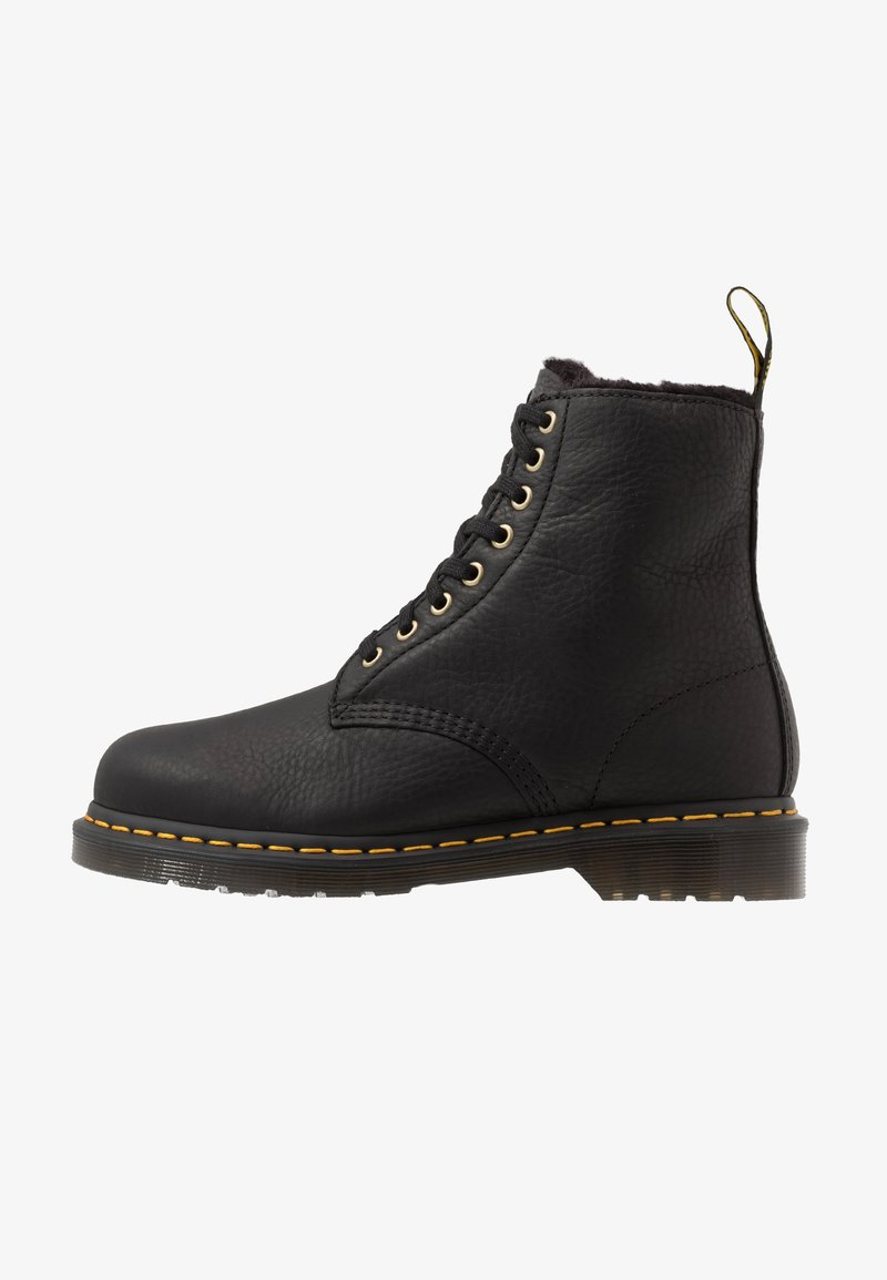 Dr. Martens - 1460 PASCAL UNISEX - Lace-up ankle boots - black